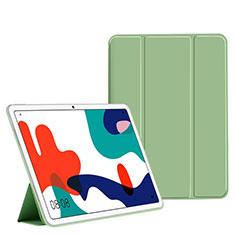 Coque Portefeuille Livre Cuir Etui Clapet L02 pour Huawei MatePad 10.4 Vert
