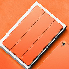 Coque Portefeuille Livre Cuir Etui Clapet L02 pour Huawei MatePad 10.8 Orange
