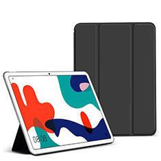 Coque Portefeuille Livre Cuir Etui Clapet L02 pour Huawei MatePad 5G 10.4 Noir