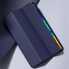 Coque Portefeuille Livre Cuir Etui Clapet L02 pour Huawei MatePad Pro 5G 10.8 Bleu