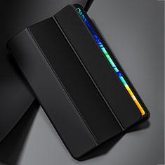Coque Portefeuille Livre Cuir Etui Clapet L02 pour Huawei MatePad Pro 5G 10.8 Noir