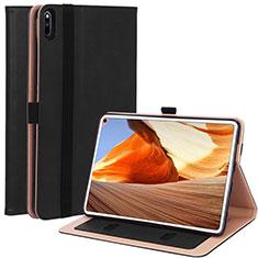 Coque Portefeuille Livre Cuir Etui Clapet L02 pour Huawei MatePad Pro Noir