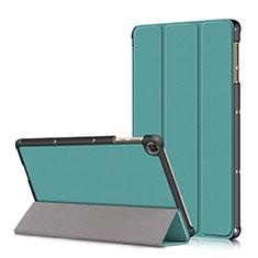 Coque Portefeuille Livre Cuir Etui Clapet L02 pour Huawei MatePad T 10s 10.1 Cyan