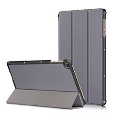 Coque Portefeuille Livre Cuir Etui Clapet L02 pour Huawei MatePad T 10s 10.1 Gris