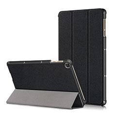 Coque Portefeuille Livre Cuir Etui Clapet L02 pour Huawei MatePad T 10s 10.1 Noir