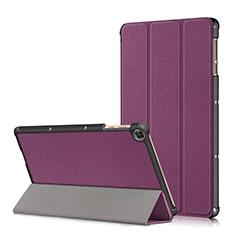 Coque Portefeuille Livre Cuir Etui Clapet L02 pour Huawei MatePad T 10s 10.1 Violet