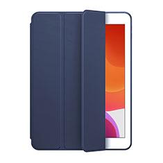 Coque Portefeuille Livre Cuir Etui Clapet L02 pour Huawei MediaPad M6 8.4 Bleu