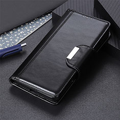 Coque Portefeuille Livre Cuir Etui Clapet L02 pour Huawei P Smart (2020) Noir