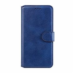Coque Portefeuille Livre Cuir Etui Clapet L02 pour Motorola Moto E6s (2020) Bleu