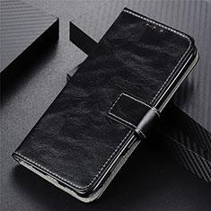 Coque Portefeuille Livre Cuir Etui Clapet L02 pour Motorola Moto G9 Power Noir