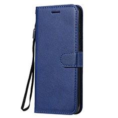 Coque Portefeuille Livre Cuir Etui Clapet L02 pour Nokia 7.2 Bleu