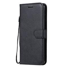 Coque Portefeuille Livre Cuir Etui Clapet L02 pour Nokia 7.2 Noir