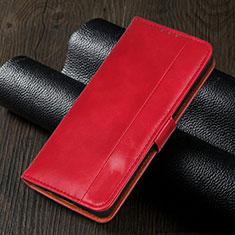 Coque Portefeuille Livre Cuir Etui Clapet L02 pour Realme 5i Rouge