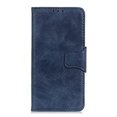 Coque Portefeuille Livre Cuir Etui Clapet L02 pour Sony Xperia 8 Lite Bleu