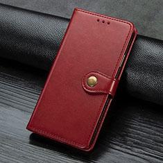 Coque Portefeuille Livre Cuir Etui Clapet L02 pour Sony Xperia L4 Rouge