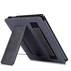Coque Portefeuille Livre Cuir Etui Clapet L03 pour Amazon Kindle Oasis 7 inch Noir