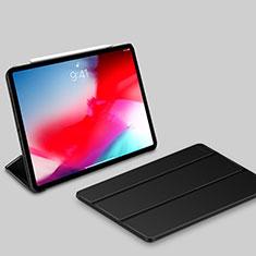 Coque Portefeuille Livre Cuir Etui Clapet L03 pour Apple iPad Pro 11 (2018) Noir