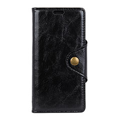 Coque Portefeuille Livre Cuir Etui Clapet L03 pour Google Pixel 3 Noir