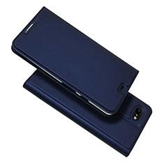 Coque Portefeuille Livre Cuir Etui Clapet L03 pour Google Pixel 3 XL Bleu