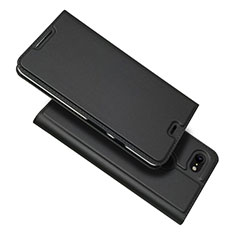Coque Portefeuille Livre Cuir Etui Clapet L03 pour Google Pixel 3 XL Noir