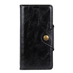 Coque Portefeuille Livre Cuir Etui Clapet L03 pour Google Pixel 3a Noir