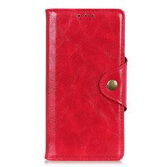 Coque Portefeuille Livre Cuir Etui Clapet L03 pour Google Pixel 4 Rouge