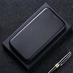 Coque Portefeuille Livre Cuir Etui Clapet L03 pour Google Pixel 5 Noir