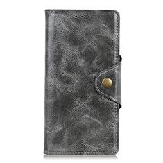 Coque Portefeuille Livre Cuir Etui Clapet L03 pour HTC U19E Gris