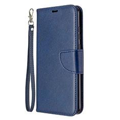 Coque Portefeuille Livre Cuir Etui Clapet L03 pour Huawei Honor 9A Bleu