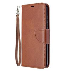 Coque Portefeuille Livre Cuir Etui Clapet L03 pour Huawei Honor 9A Marron