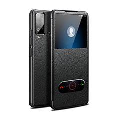 Coque Portefeuille Livre Cuir Etui Clapet L03 pour Huawei Honor Play4T Noir