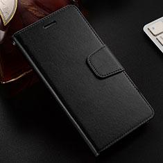 Coque Portefeuille Livre Cuir Etui Clapet L03 pour Huawei Honor V10 Lite Noir