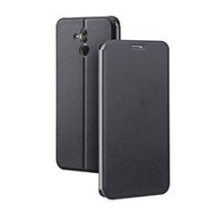 Coque Portefeuille Livre Cuir Etui Clapet L03 pour Huawei Mate 20 Lite Noir