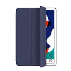 Coque Portefeuille Livre Cuir Etui Clapet L03 pour Huawei MatePad 10.4 Bleu