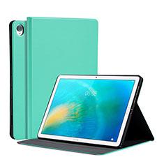 Coque Portefeuille Livre Cuir Etui Clapet L03 pour Huawei MatePad 10.8 Pastel Vert