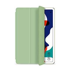 Coque Portefeuille Livre Cuir Etui Clapet L03 pour Huawei MatePad 5G 10.4 Cyan