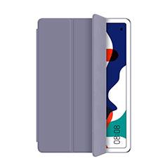 Coque Portefeuille Livre Cuir Etui Clapet L03 pour Huawei MatePad 5G 10.4 Gris
