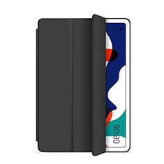 Coque Portefeuille Livre Cuir Etui Clapet L03 pour Huawei MatePad 5G 10.4 Noir