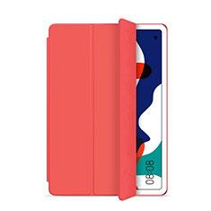 Coque Portefeuille Livre Cuir Etui Clapet L03 pour Huawei MatePad 5G 10.4 Rouge