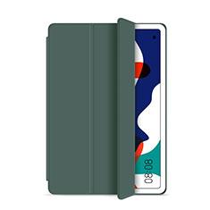 Coque Portefeuille Livre Cuir Etui Clapet L03 pour Huawei MatePad 5G 10.4 Vert