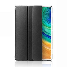 Coque Portefeuille Livre Cuir Etui Clapet L03 pour Huawei MatePad Pro 5G 10.8 Noir
