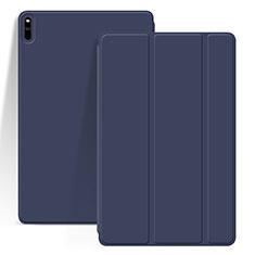 Coque Portefeuille Livre Cuir Etui Clapet L03 pour Huawei MatePad Pro Bleu