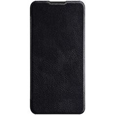 Coque Portefeuille Livre Cuir Etui Clapet L03 pour Huawei P30 Lite Noir
