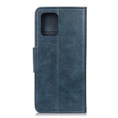 Coque Portefeuille Livre Cuir Etui Clapet L03 pour Huawei P40 Bleu