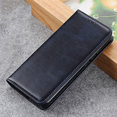 Coque Portefeuille Livre Cuir Etui Clapet L03 pour LG K62 Bleu Royal