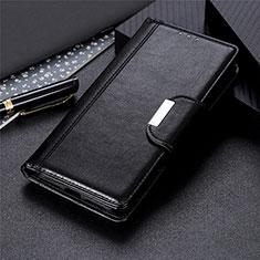 Coque Portefeuille Livre Cuir Etui Clapet L03 pour LG Stylo 6 Noir