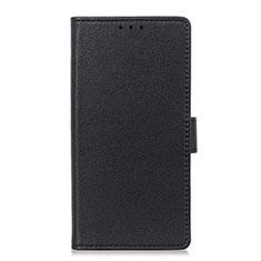 Coque Portefeuille Livre Cuir Etui Clapet L03 pour LG Velvet 4G Noir