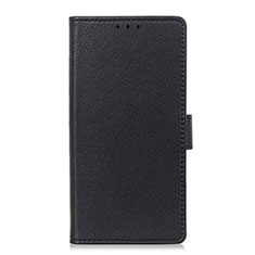 Coque Portefeuille Livre Cuir Etui Clapet L03 pour LG Velvet 5G Noir