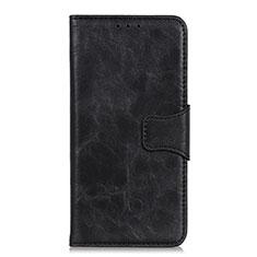 Coque Portefeuille Livre Cuir Etui Clapet L03 pour Motorola Moto E6s (2020) Noir