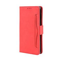 Coque Portefeuille Livre Cuir Etui Clapet L03 pour Motorola Moto Edge Plus Rouge